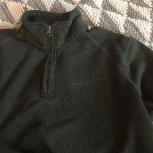 Eddie Bauer pullover with zipper